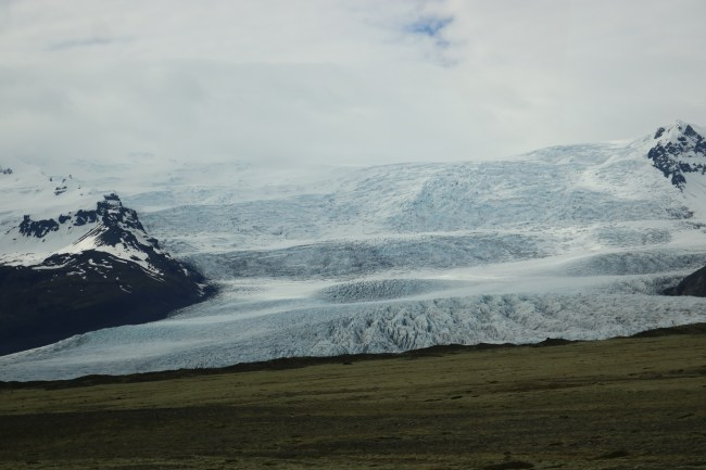 "The outskirts of Vatnajökull National Park and film location for ""Game of Thrones"""