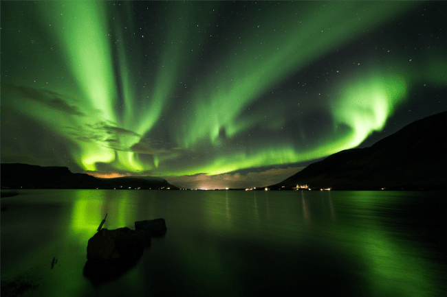 Northern Lights in Iceland. Photo: Happy Tours