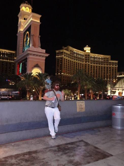 """You might see the guy from """"The Hangover"""" hanging around in Las Vegas! ;-)"""