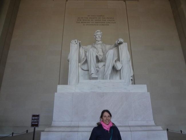 Abraham Lincoln Memorial in Washington D.C.