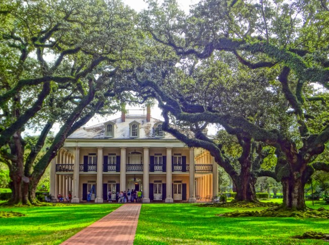 Oak Alley Plantation near New Orleans