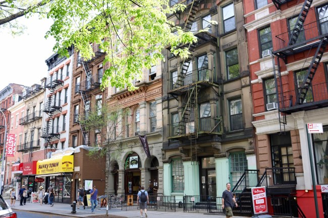 In New York's East Village, there was so much more to discover than food