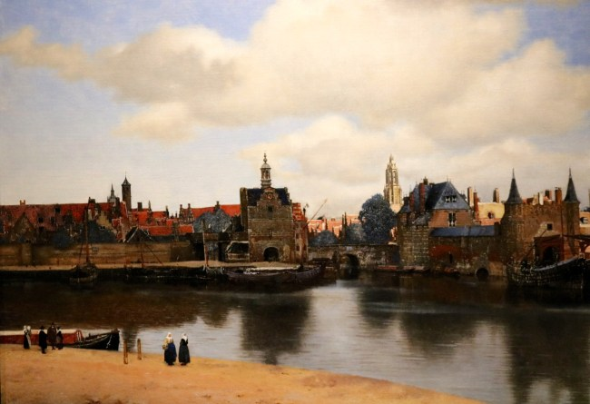 """Vermeer's painting """"View of Delft"""""""