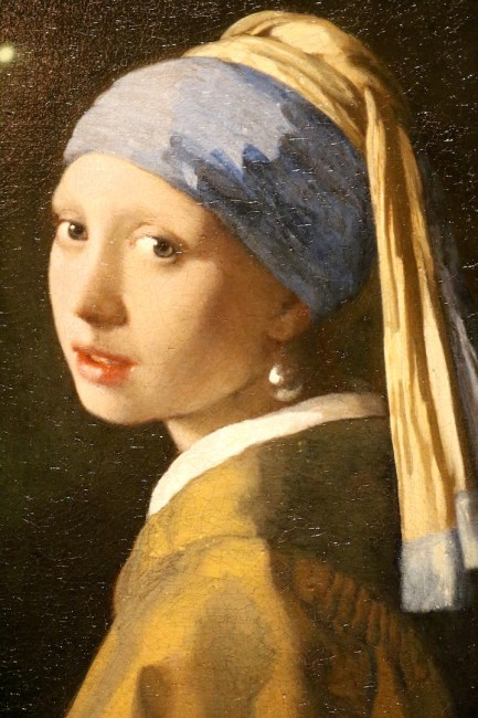 Girl with a Pearl Earring Painting by Johannes Vermeer