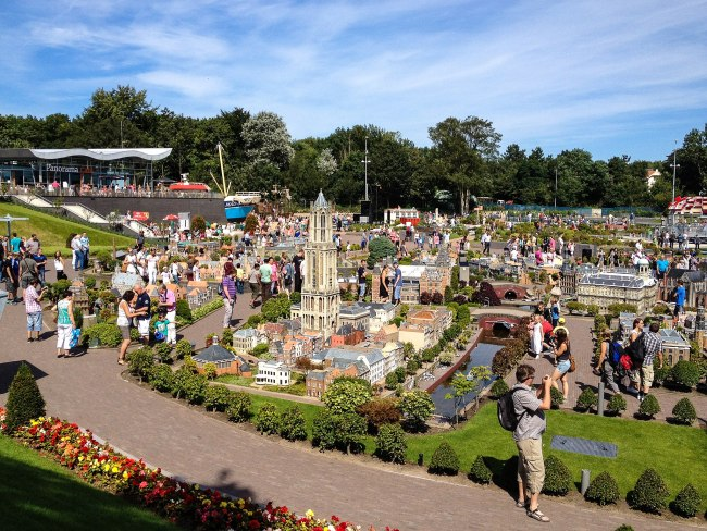 The Madurodam in The Hague. Photo by Michal Osmenda from Brussels, Belgium via Wikimedia Commons