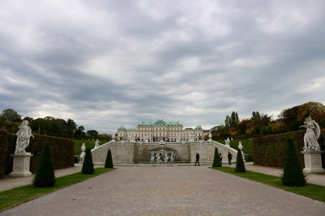 The Belvedere art gallery served as a filming locations in several Vienna-set films. Photo: Sonja Irani / filmfantravel.com