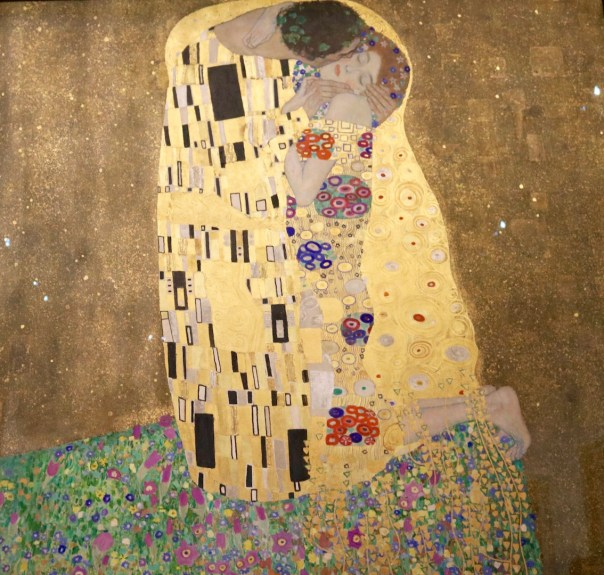 """The Kiss"" by Gustav Klimt"