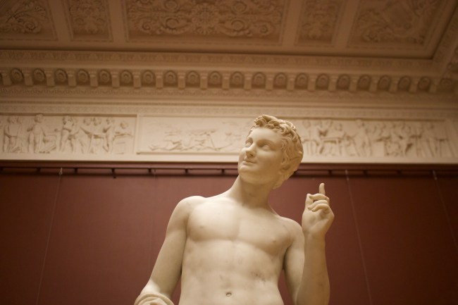 Inside the Russian Museum in St Petersburg, Russia