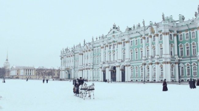 "The British TV mini series ""War & Peace"" (2016) was shot at the Hermitage Museum. Photo: © BBC"
