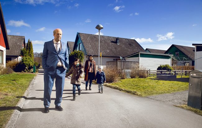 """Scene from """"A Man Called Ove"""" – in my opinion, one of the best Swedish films in recent years. Photo: © 2015 Music Box Films"""