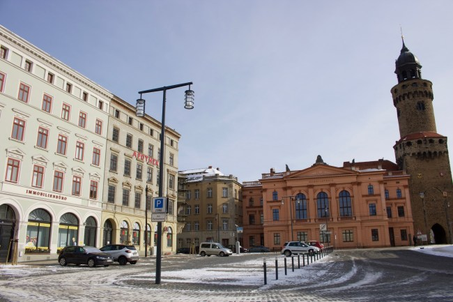 The Demianiplatz in Görlitz, Germany © Sonja Irani / filmfantravel.com