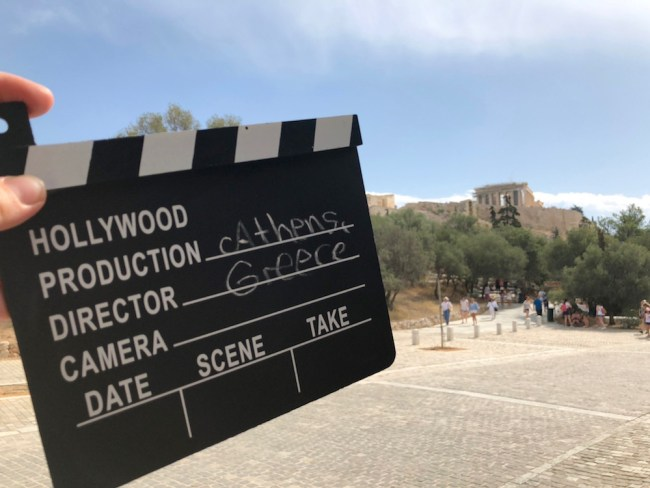 """Camera! Lights! Action!"" Athens as a film location"
