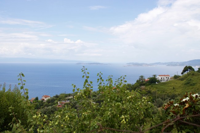 View from the village of Glossa on the Mamma Mia! Tour on the island of Skopelos