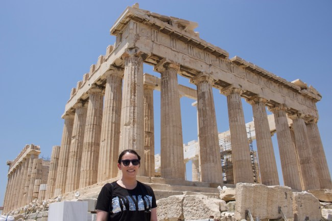Me at the Acropolis