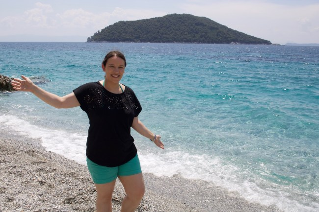Kastani Beach on the island of Skopelos