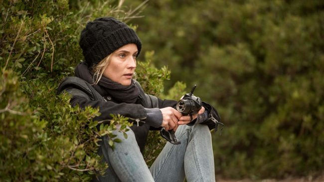 """Scene from """"In the Fade"""": Katja seeking revenge. Photo by GORDON Photographie - © Warner Brothers/Gordon Timpen, SMPSP"""