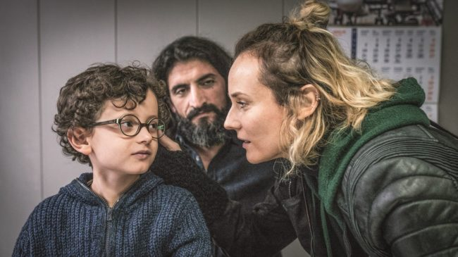 """Scene from """"In the Fade"""": Katja with her son and husband. Photo by GORDON Photographie - © Warner Brothers/Gordon Timpen, SMPSP"""