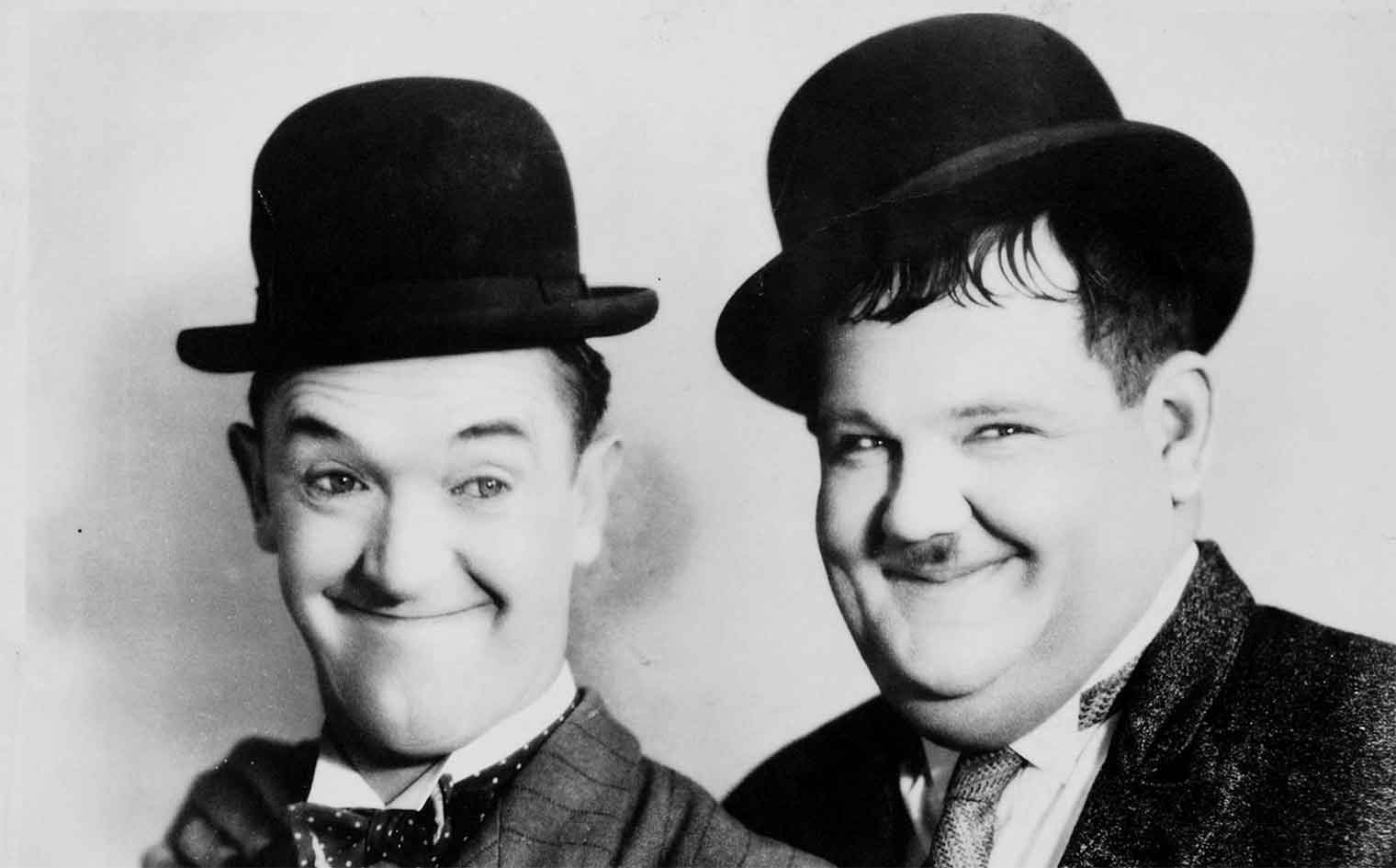 MR. LAUREL & MR. HARDY