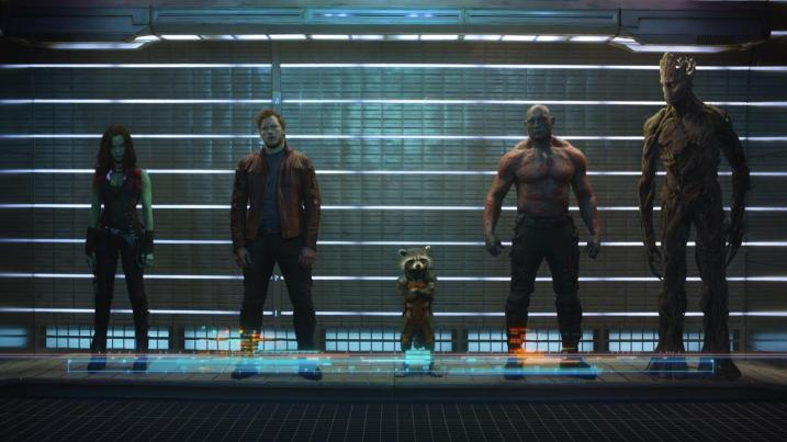 First Image GUARDIANS OF THE GALAXY