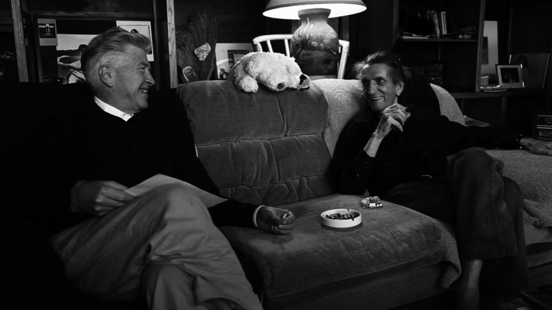 Harry Dean Stanton and David Lynch