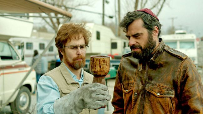 Don Verdean with Sam Rockwell