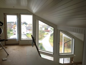 View from the attic.