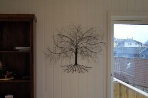 Kunst bilde laget av streng.