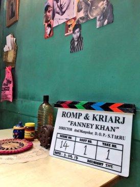 Fanney Khan BTS Pic
