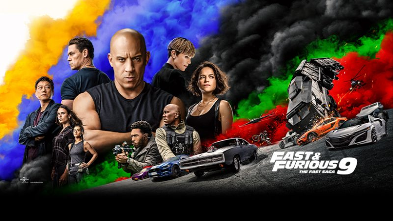 Fast & Furious 9 - Facebook cover