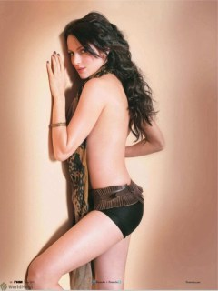 Yana cashing on her new found fame: Goes Topless For FHM
