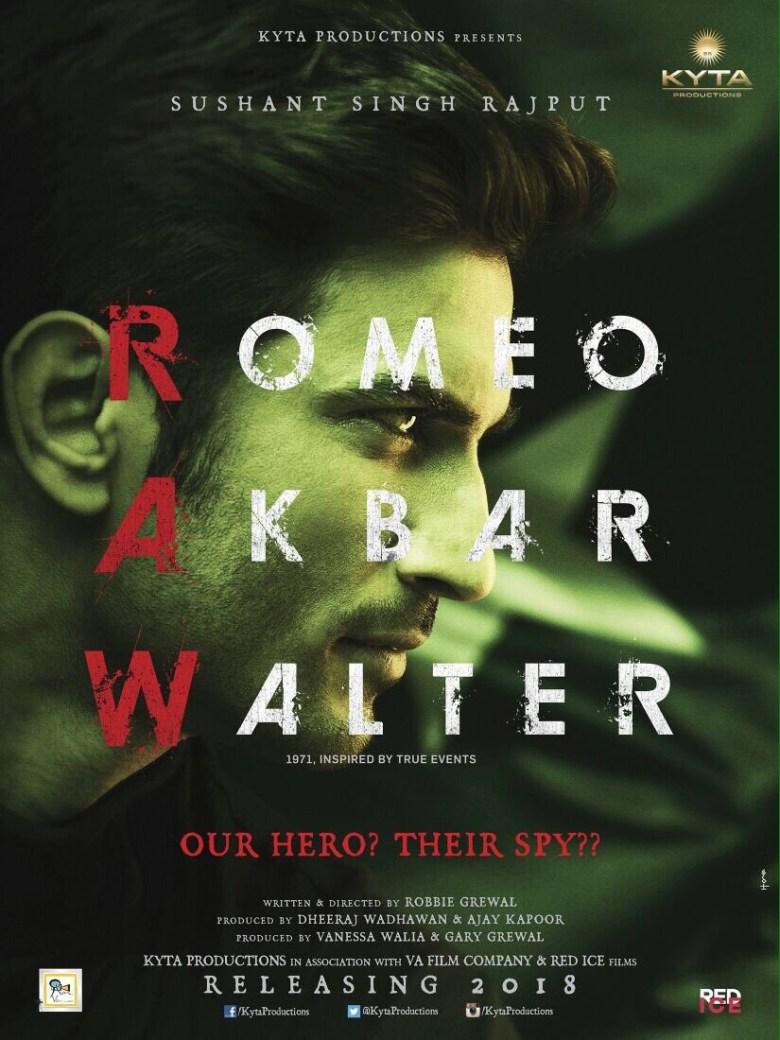 First Look of RAW (Romeo Akbar Walter)