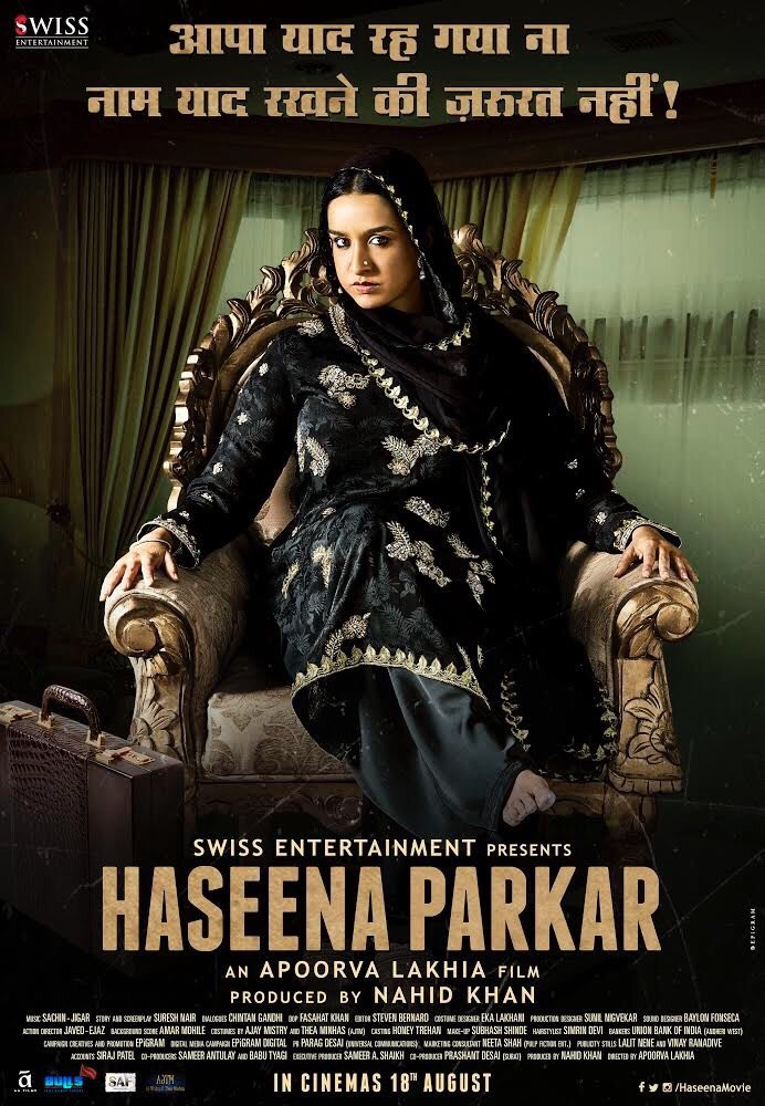 Shraddha Kapoor Steals The Show In haseena parkar Trailer