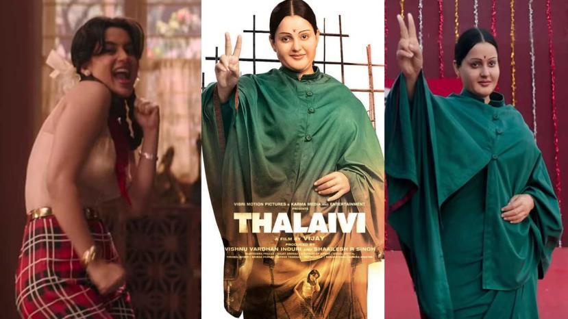 Kangana Ranaut dons Jayalalithaa Avatar