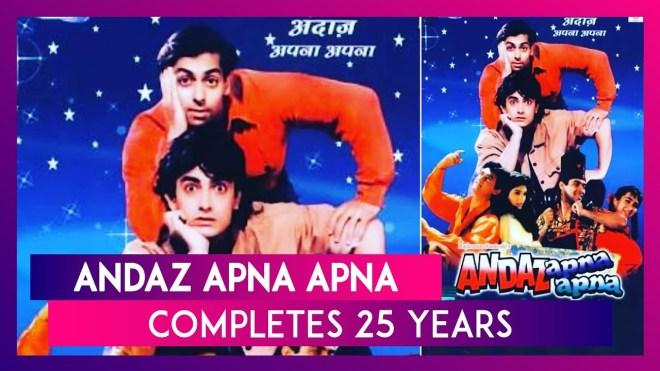 Andaz Apna Apna: The iconic film completes 25 years
