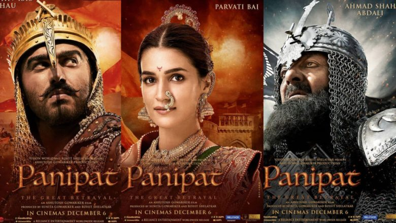 Stars share Panipat's first look