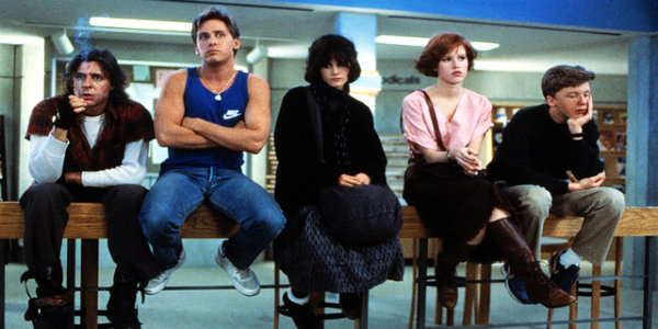 The Breakfast Club (1985) Source: Universal Pictures