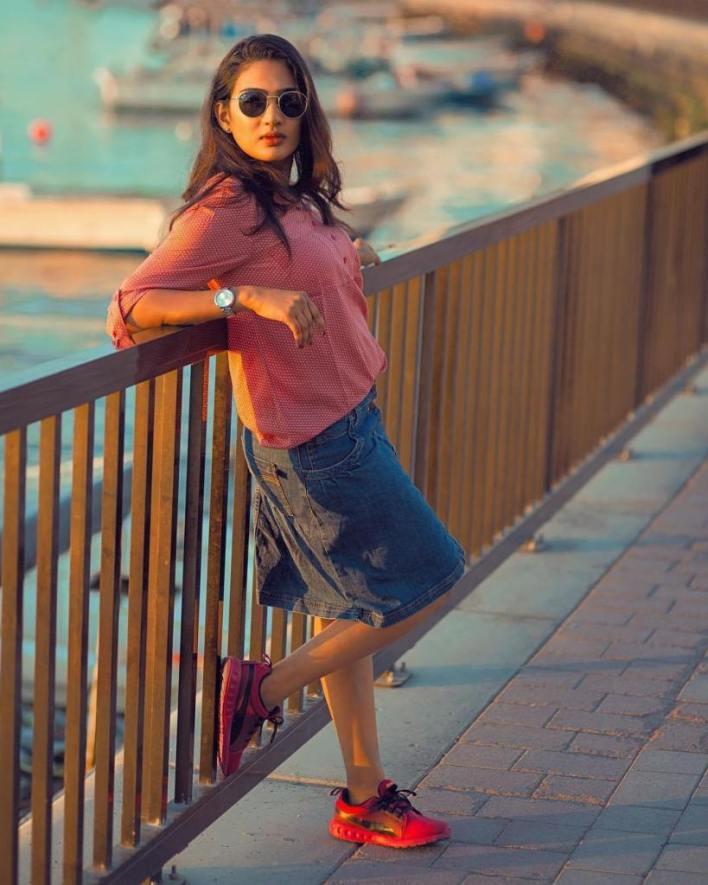 57+ Cute Photos of Aditi Ravi 5