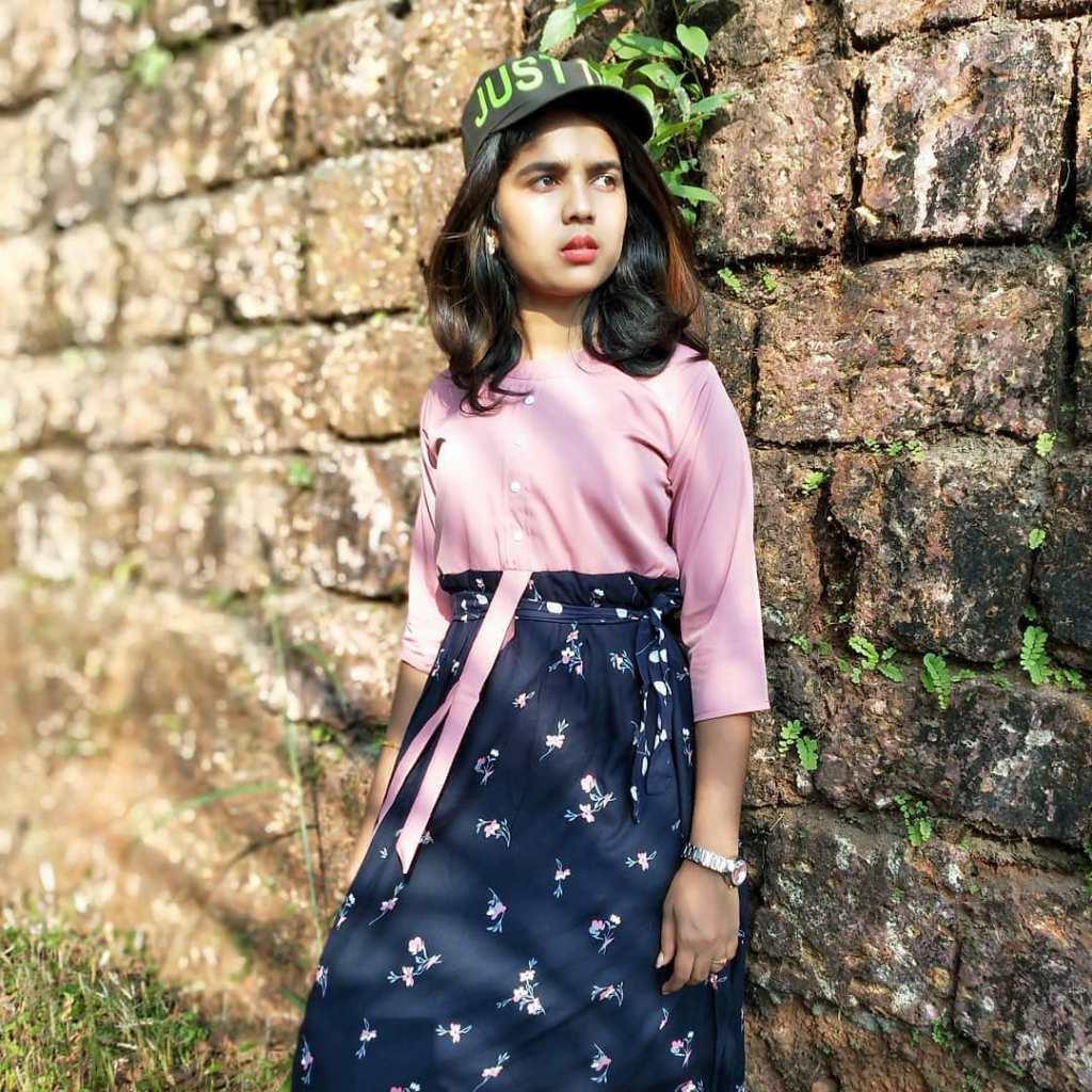 Kerala Tik Tok Star Dhanya S Rajesh (Helen of Sparta) HD Photos 9