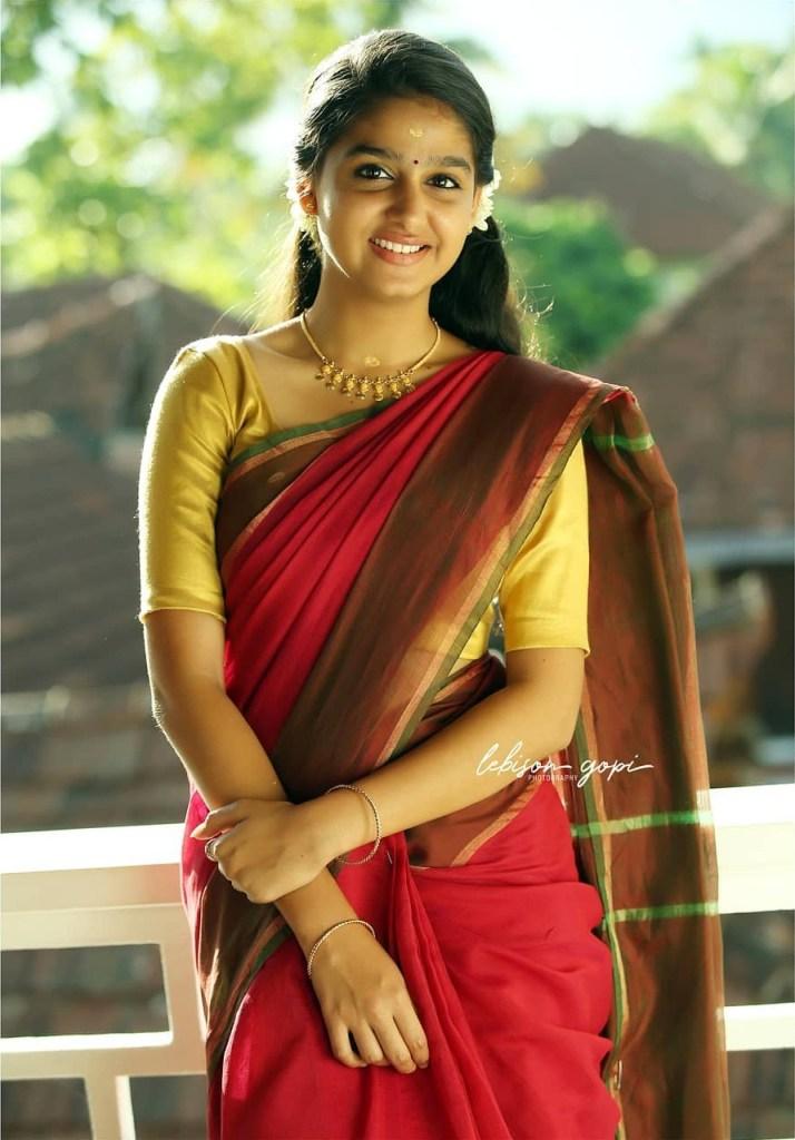 18+ Cute Photos of Anaswara Rajan 7