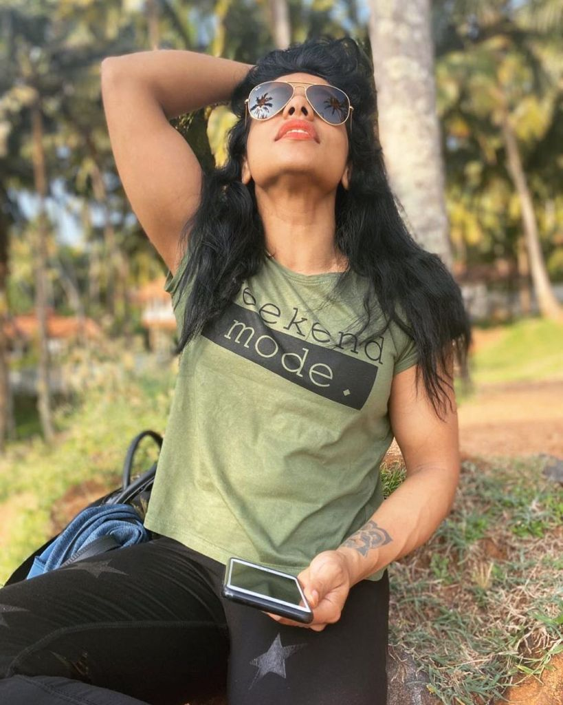 Sreeya Iyer, Anchor turns woman physique the Muscle girl from Kerala 3
