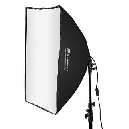 A photo of a softbox light