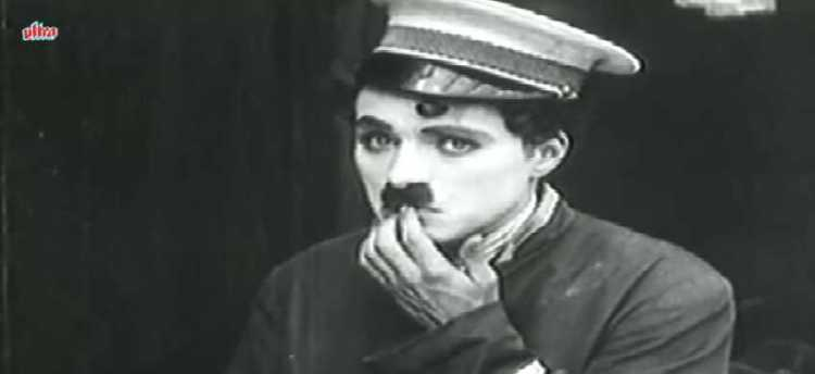 "Charlie Chaplin's ""The Bank"" Movie"