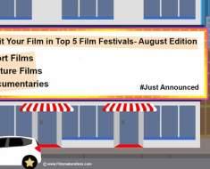 film festivals august, filmmakersfans