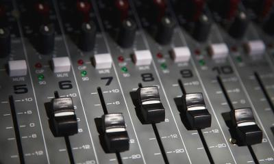 sound mixing boards