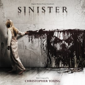 Cover art for the movie soundtrack to Sinister, by Christopher Young