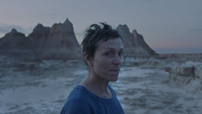 Nomadland Directed by Chloe Zhao Francis McDormand as Fern