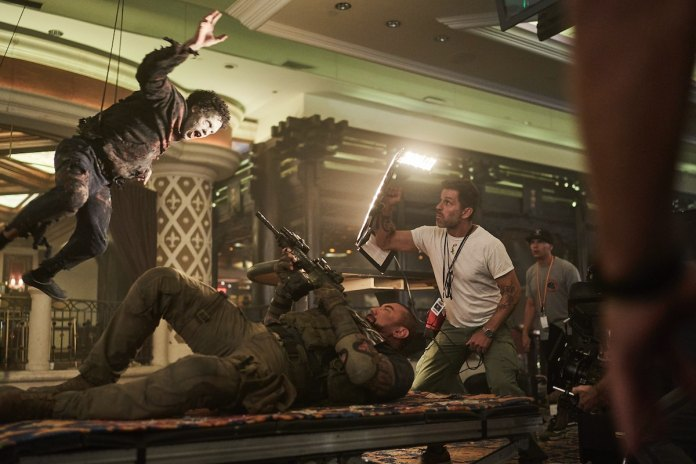 Dave Bautista and Zack Snyder Behind the Scenes on Netflix's Army of the Dead