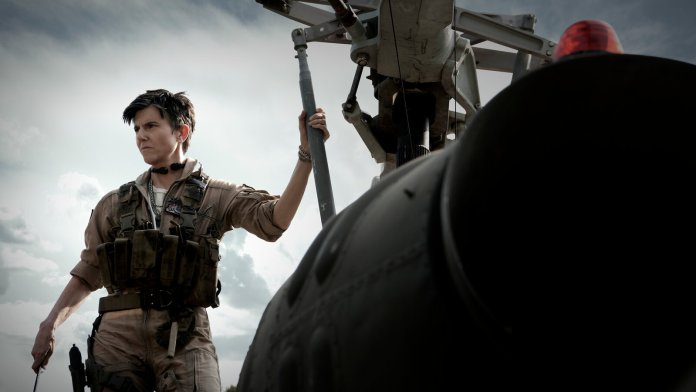 Tig Nataro as Marianne Peters in Zack Snyder's Army of the Dead on Netflix