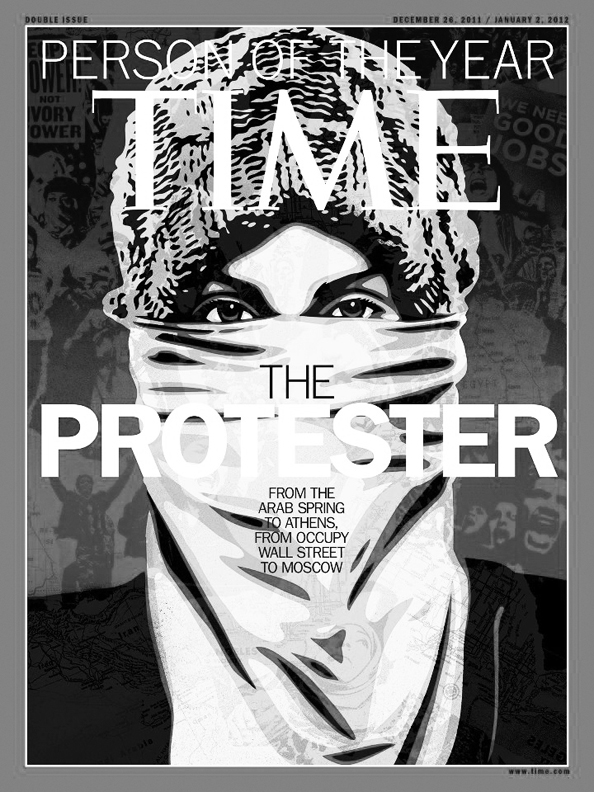 TIME - The protester