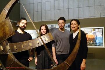 Το ΚΘΒΕ στο Τελλόγλειο Ίδρυμα «Πίσω από τους Πίνακες. Μία συνομιλία με τη ζωγραφική του Πάρι Πρέκα»